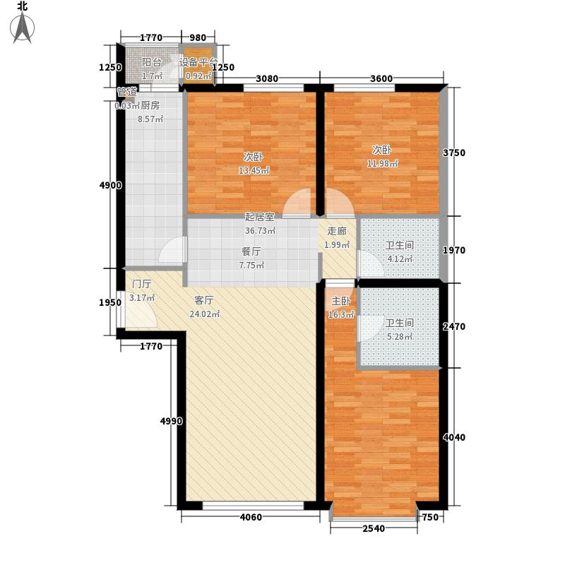 朝庭公寓2号楼D-A3户型