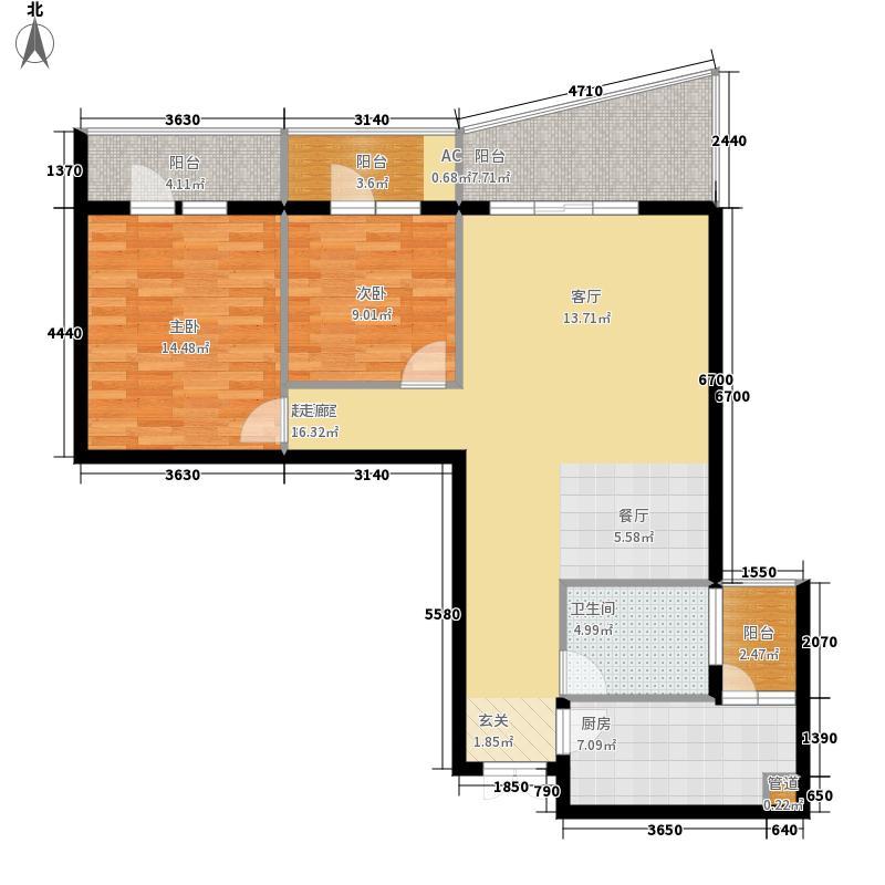青山小区青山小区户型图(13/24张)户型10室