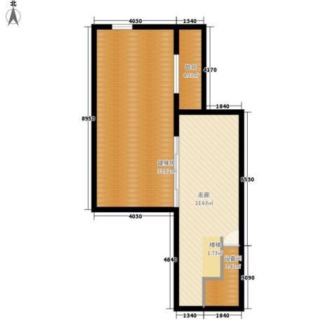 中新公寓90.00㎡户型图