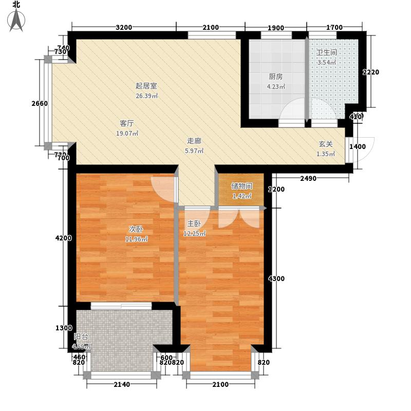恒益翠芳庭恒益翠芳庭户型图A型单元户型图(3/5张)户型10室