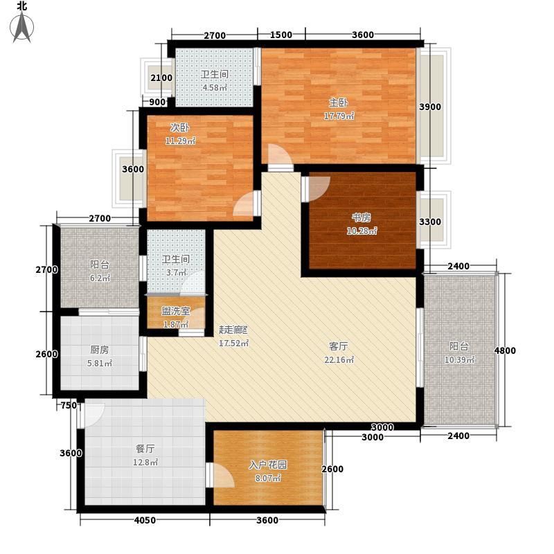 美佳假日花园美佳假日花园户型图三室两厅一厨两卫(14/24张)户型10室