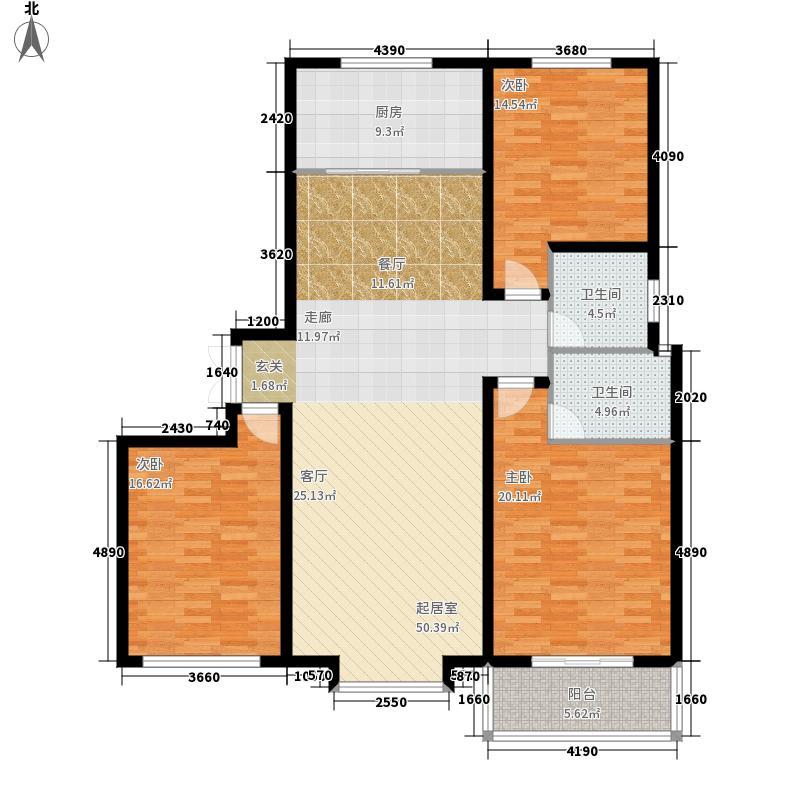西部峰景140.62㎡2005/2/1户型3室2厅