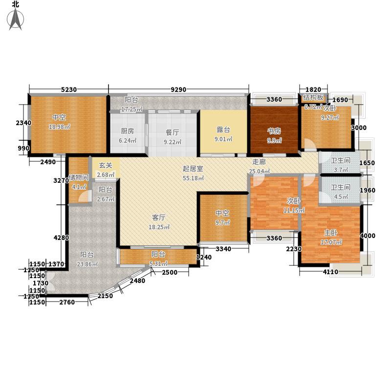 熙龙湾二期熙龙湾二期户型图两厅四房两卫(22/28张)户型10室