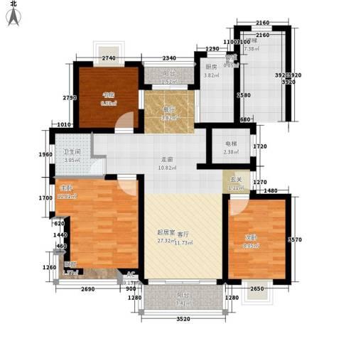 南门东二路小区3室0厅1卫1厨82.00㎡户型图