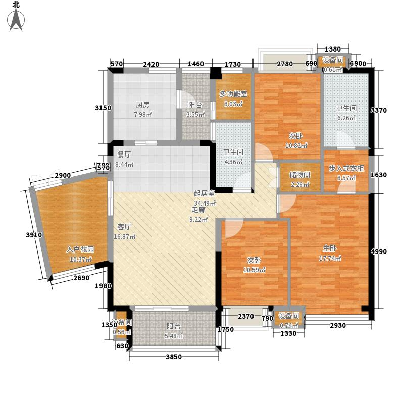 鹭岛国际社区146.39㎡二期B5型3面积14639m户型