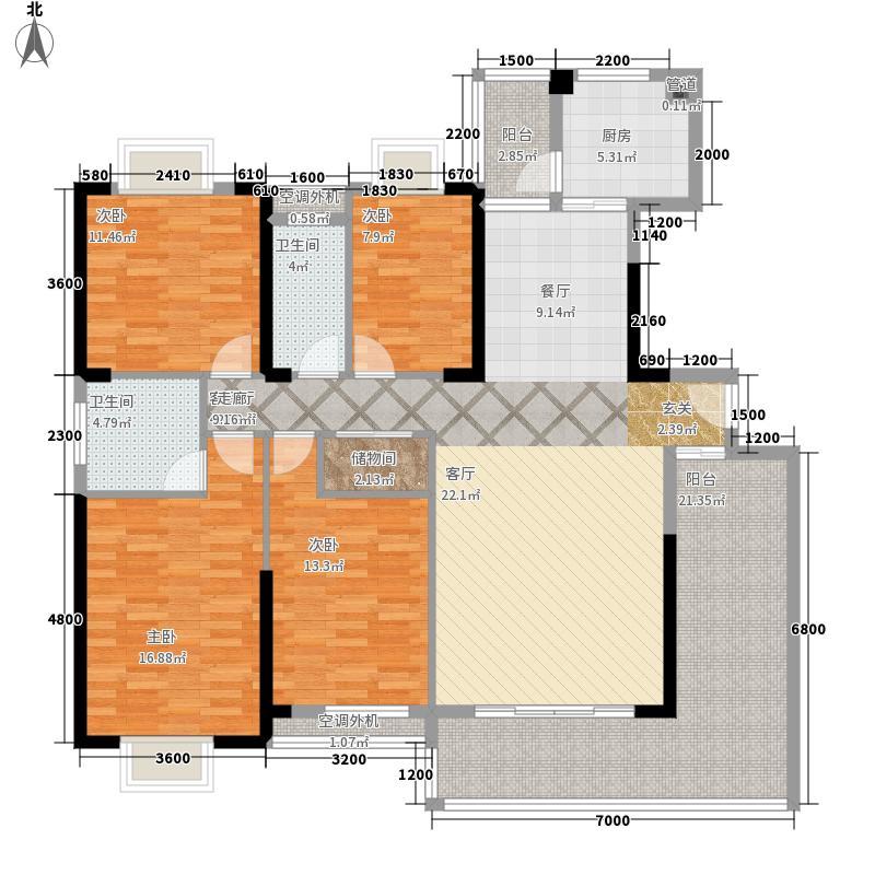祥和家园159.81㎡D2户型