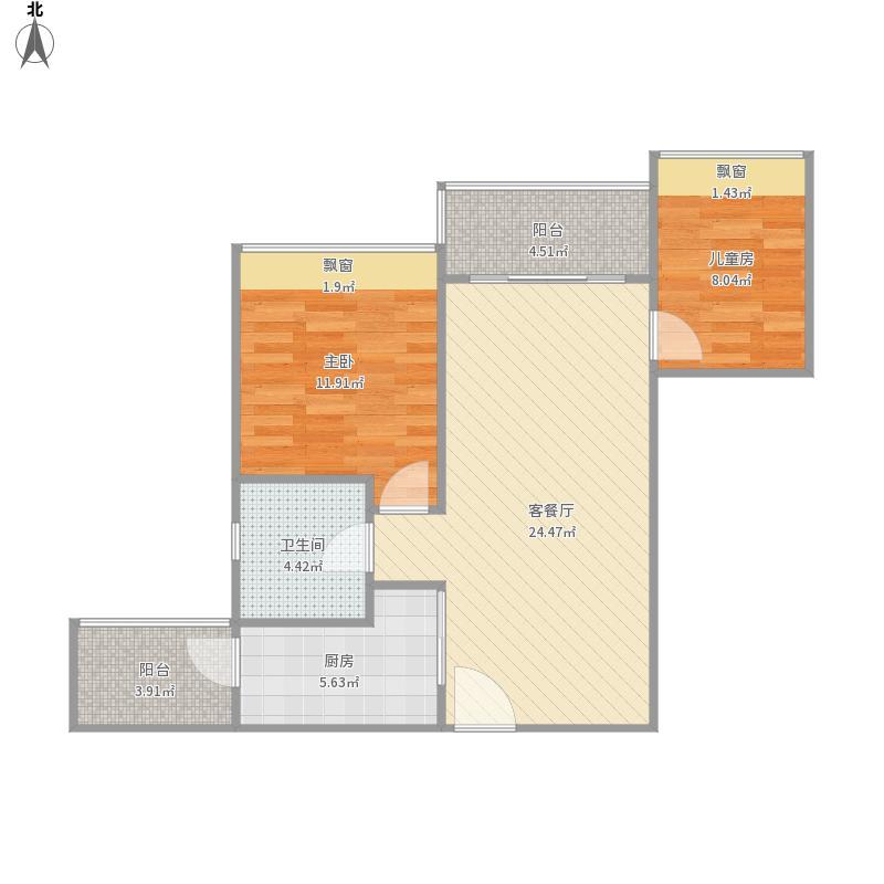 广州市番禺区诺德名筑房型图