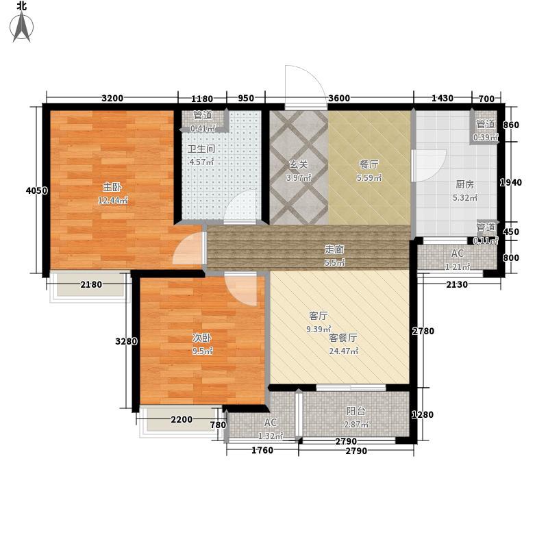 「大连天地」悦丽海湾R3B号楼标准层02户型