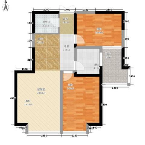 石湖东路小区2室0厅1卫1厨220.00㎡户型图
