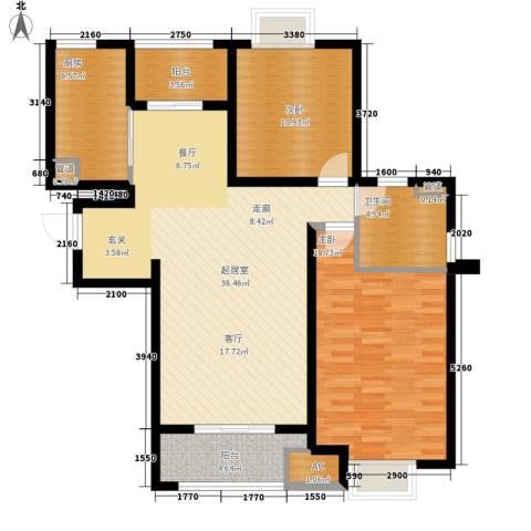 华通花园2室0厅1卫1厨200.00㎡户型图