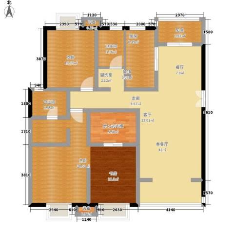 居礼2室1厅2卫1厨150.00㎡户型图