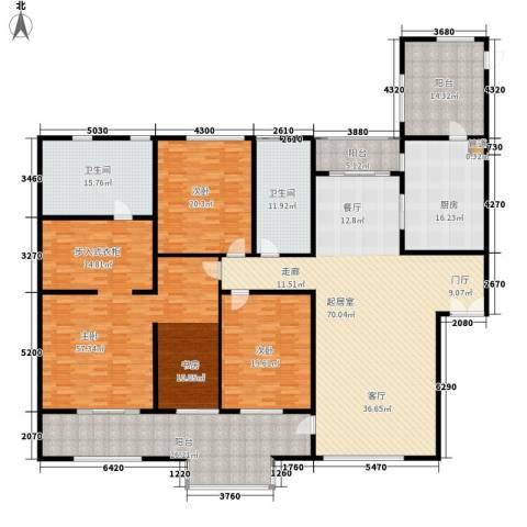 笑园小区3室0厅2卫1厨280.00㎡户型图