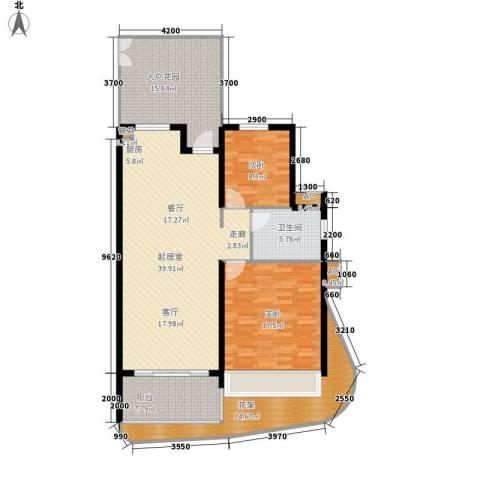 五指山森林湖2室0厅1卫0厨115.00㎡户型图
