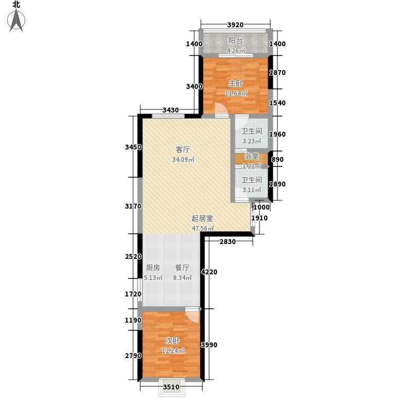 最空间最空间户型图(12/37张)户型10室