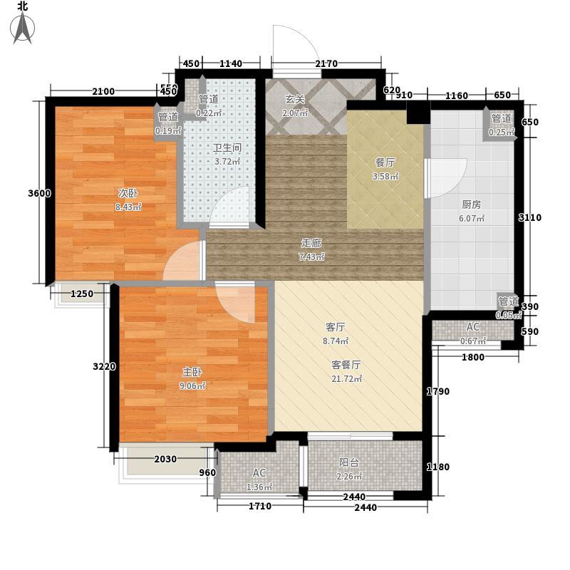 「大连天地」悦丽海湾R1B号楼标准层02、03户型