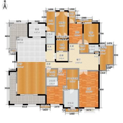 万科金域曲江4室0厅5卫1厨260.00㎡户型图