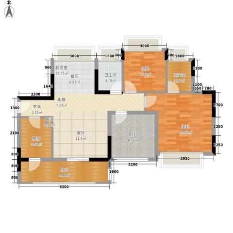 东江豪门别墅2室0厅2卫1厨115.00㎡户型图