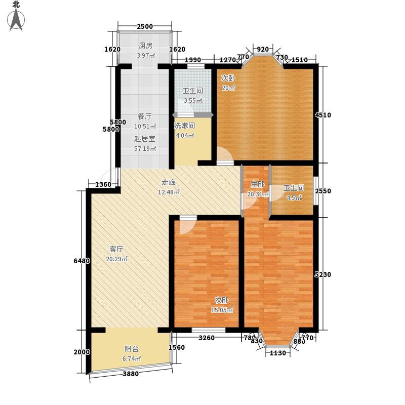 宁馨家园135.20㎡面积13520m户型