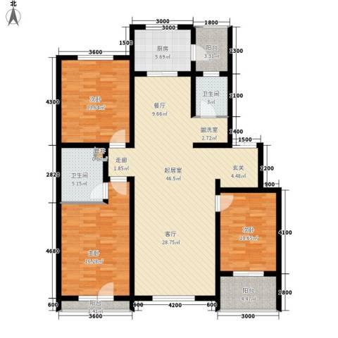 安联蓝水晶3室0厅2卫1厨139.00㎡户型图