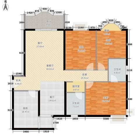 裕华名居城2室1厅0卫0厨127.00㎡户型图