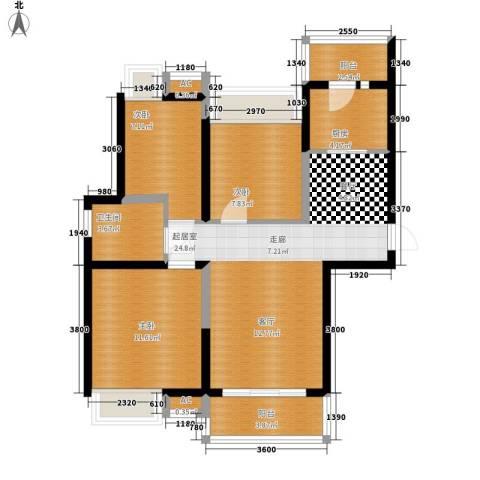 太白花园3室0厅1卫1厨98.00㎡户型图