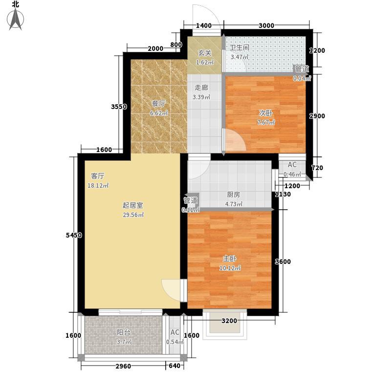 西安首创国际城/首创漫香郡22#楼A3户型