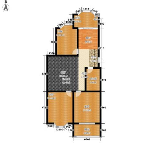 紫金山小区3室0厅1卫1厨123.00㎡户型图