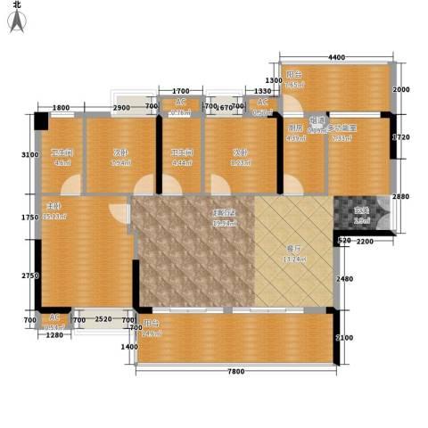 荣爵馆3室0厅2卫1厨112.45㎡户型图