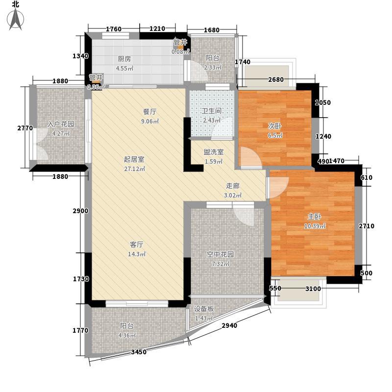 夏湾拿(HAVANA)82.45㎡4#6号房、5#2号房户型