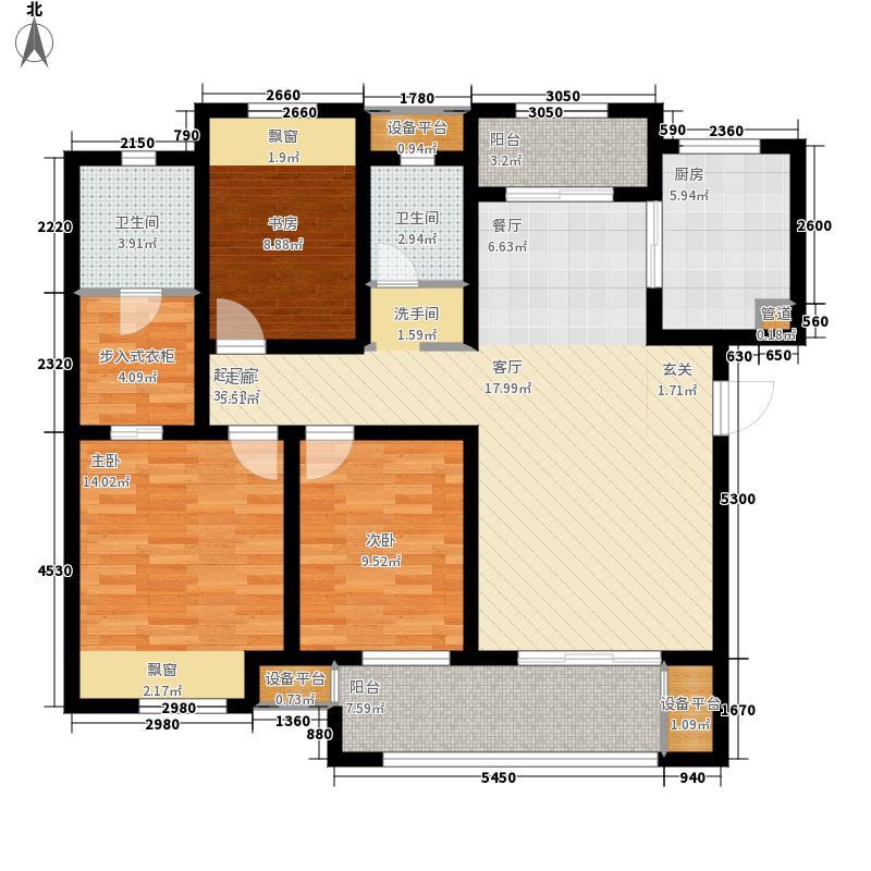 新城金郡113.00㎡二期多层56#楼标面积11300m户型