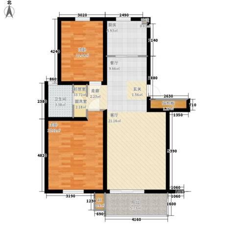 河头里小区2室0厅1卫1厨94.00㎡户型图