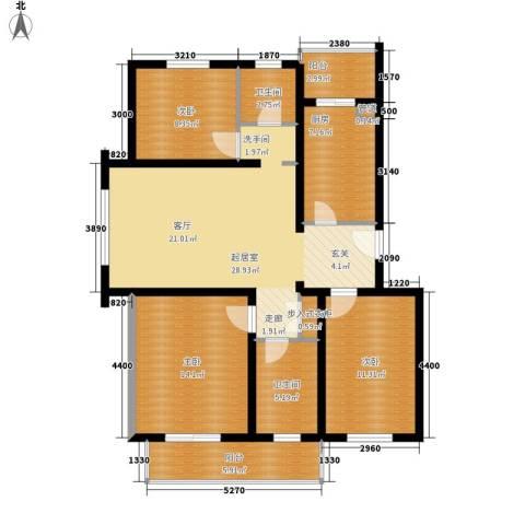 景福花园(横沥)3室0厅2卫1厨126.00㎡户型图