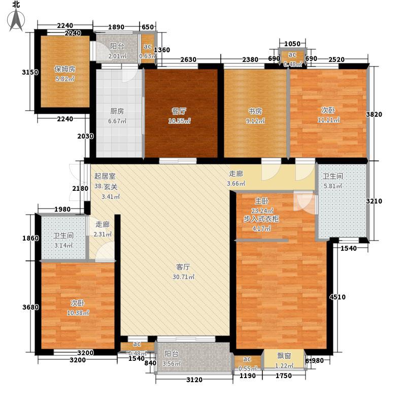 康馨雅苑4居室户型