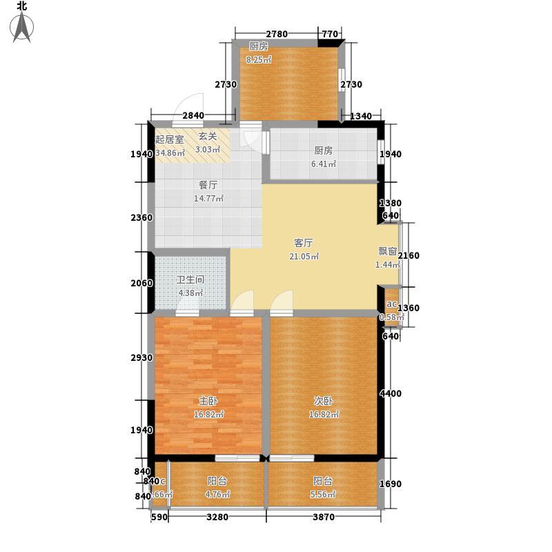 LOMO铂客112.00㎡1#楼D2面积11200m户型