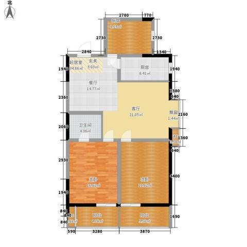 LOMO铂客2室0厅1卫2厨112.00㎡户型图