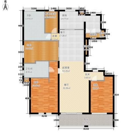 万科信成道4室0厅2卫1厨187.00㎡户型图