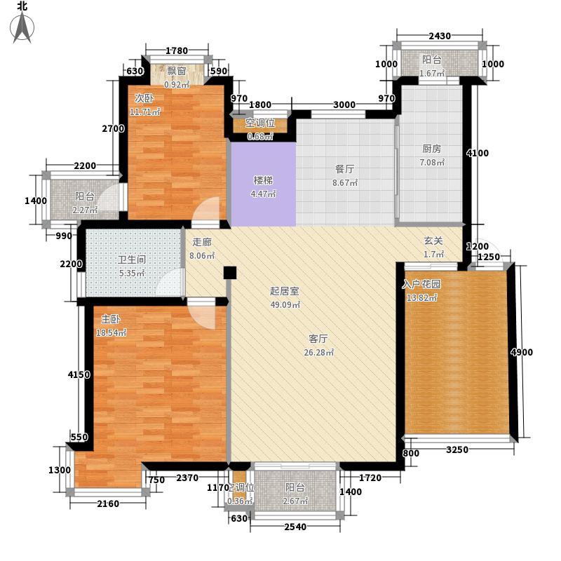 桂林奥林匹克花园188.52㎡情景洋房c4-1户型