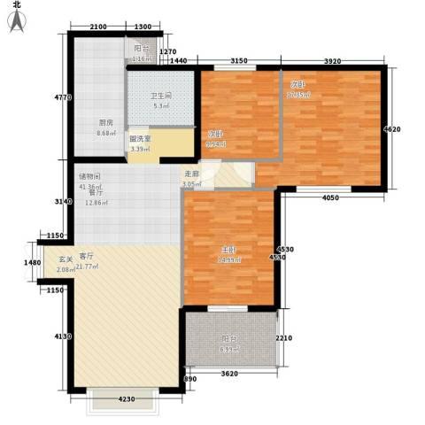 永宁小区3室0厅1卫1厨105.78㎡户型图