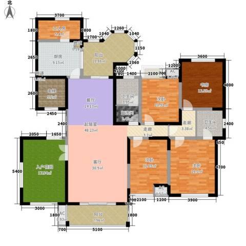 曲江观邸4室0厅2卫1厨249.00㎡户型图