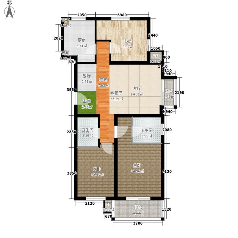 元龙水云间元龙水云间户型图(3/4张)户型10室