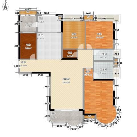 合生君景湾5室0厅2卫1厨178.00㎡户型图