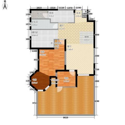 晶城秀府2室0厅1卫1厨215.00㎡户型图