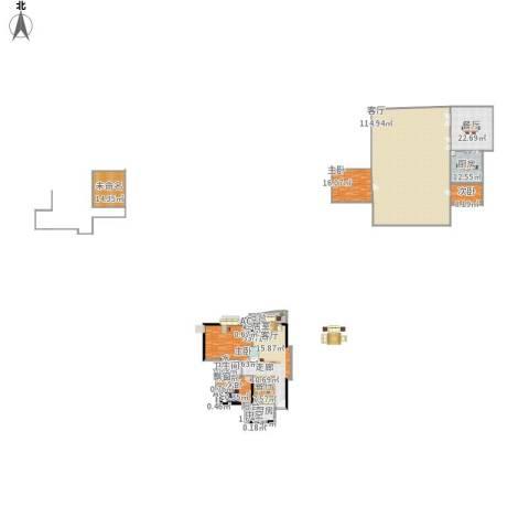 晟大海湾城4室2厅1卫2厨359.00㎡户型图