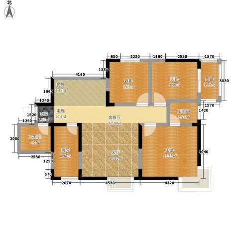 西瑞北国之春3室1厅2卫1厨120.00㎡户型图