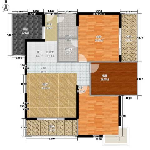 大话南门项目3室0厅2卫1厨139.00㎡户型图