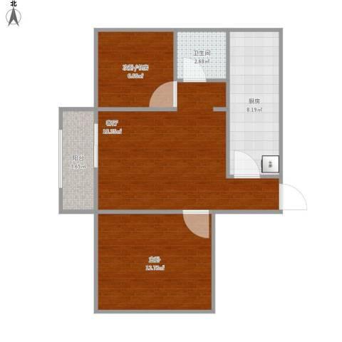 佳和雅庭1室1厅1卫1厨71.00㎡户型图