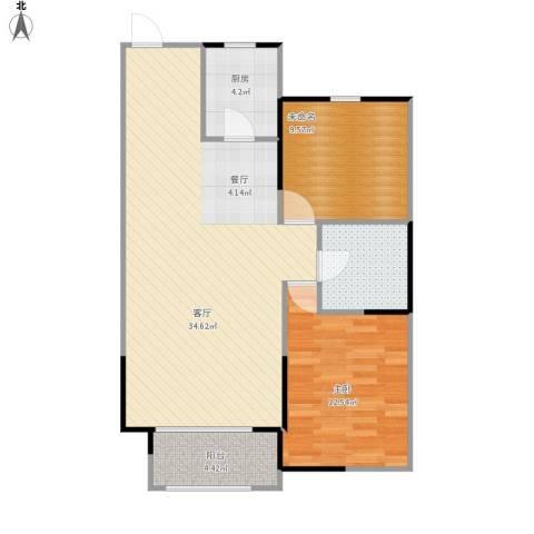 嘉惠第五园1室1厅1卫1厨94.00㎡户型图