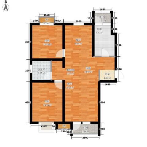 京港国际城2室0厅1卫1厨100.00㎡户型图