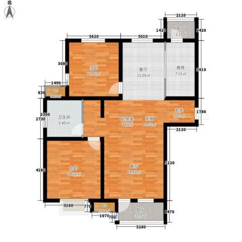 京港国际城2室0厅1卫1厨102.00㎡户型图