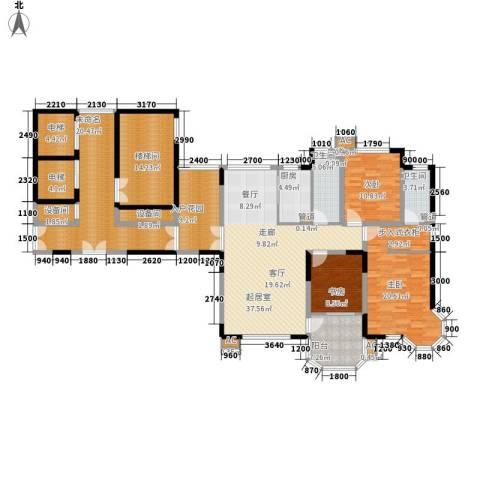 中海水岸馨都3室0厅2卫1厨226.00㎡户型图